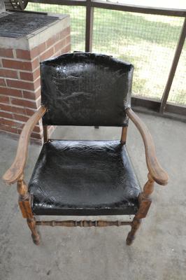 Antique Vintage Beatles Chair