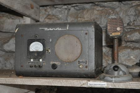 Communication Radio used by Pigman
