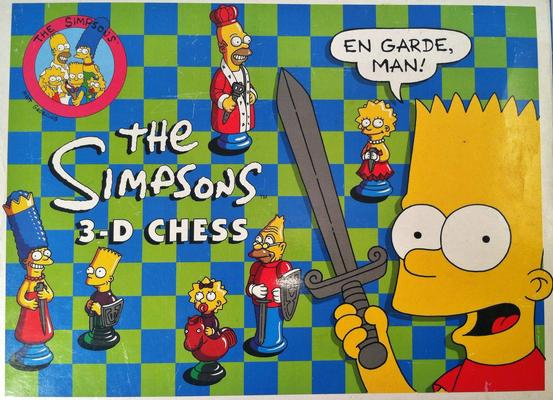 Simpson's Chess Set