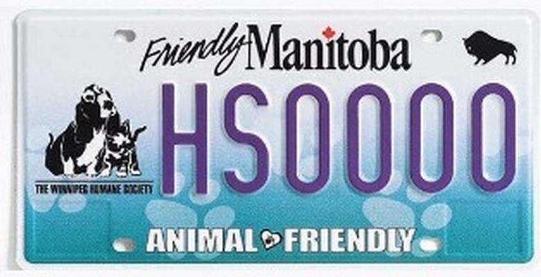 License plate #HS0001