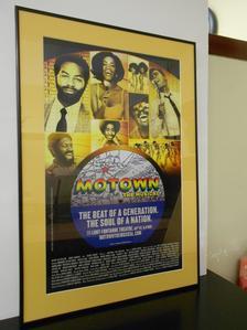 Motown CD & Framed Poster