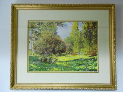 Monet (framed lithograph)