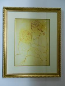Picasso (framed lithograph)