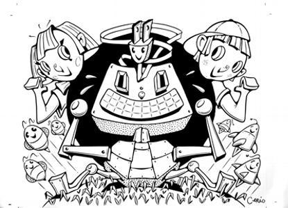"STEVEN CERIO: ""COMPUTER KIDS"""