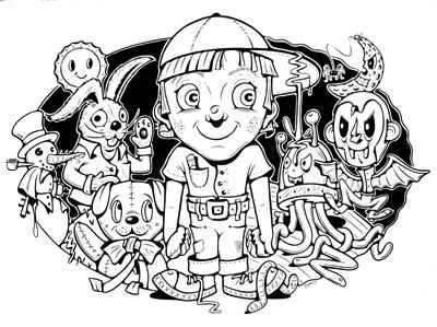 """STEVEN CERIO: """"SCARY CHILDRENS' LITERATURE"""""""