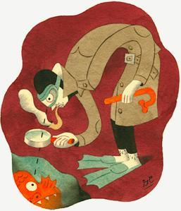 "GREG CLARKE: 'SUBAQUEOUS CREATURE"""
