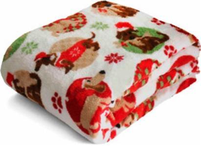Fleece Dachshund Blanket