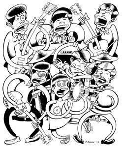 """PETER BAGGE: """"THE COWSILLS"""""""