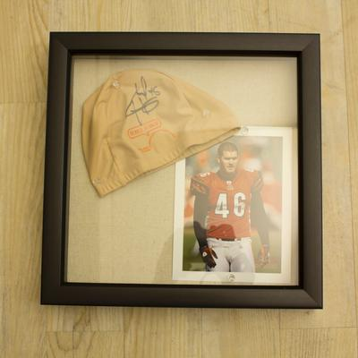 Clark Harris Signed Cap & Picture Package
