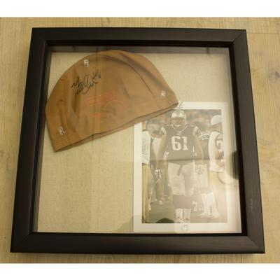 Marcus Cannon Signed Cap & Picture Package