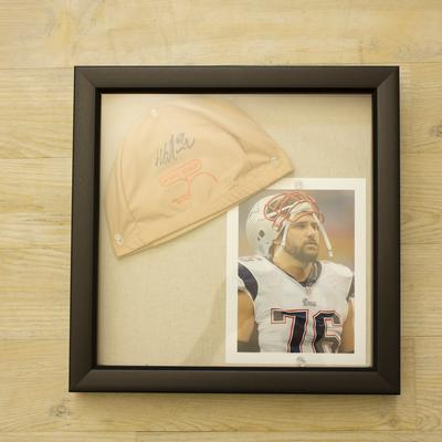 Sebastian Vollmer Signed Cap & Picture Package