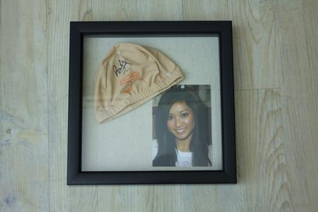 Brenda Song Signed Cap & Picture Package
