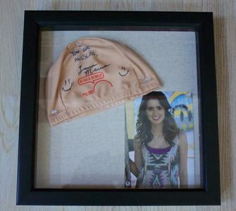 Laura Marano Signed Cap & Picture Package