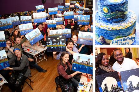 The Paint Bar - Painting Class