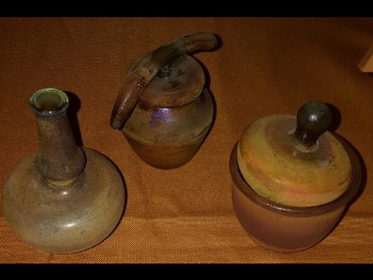 Medicine Vessel - 3 Piece Set