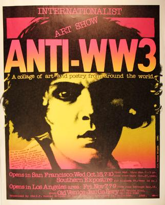 Internationalist Art Show Anti-ww3