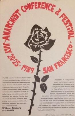 1989 Anarchist Conference and Festival