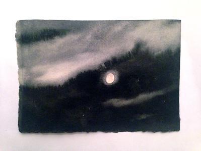 A Sky for Preunschen #4 - Geoffrey Hendricks, 1994