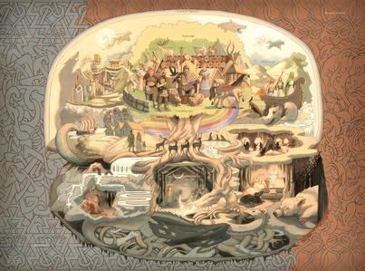 Norse Cosmos Poster