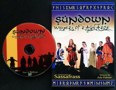 CD/DVD set Sundown: Whispers of Ragnarok