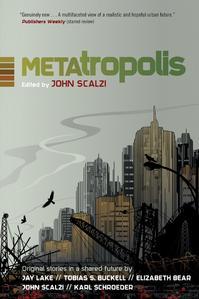 Metatropolis, John Scalzi Autographed