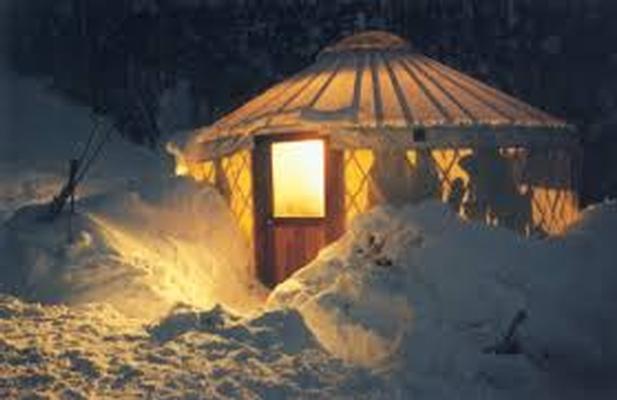 1 Night in Galena Lodge Yurt
