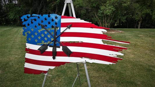 Battle Worn Flag