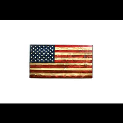 Phantom Fury Wooden Flag