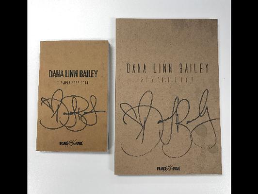 Autographed Dana Linn Bailey 2014 Olympia and 2015 Arnold Prep Books