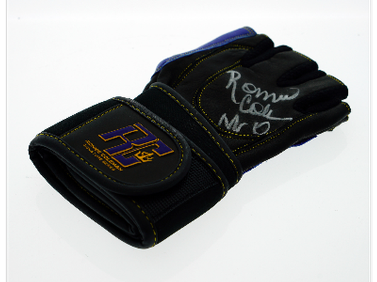 Ronnie Coleman Autographed Lifting Glove