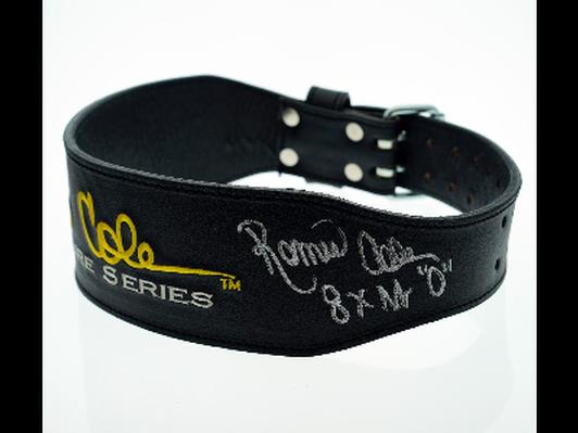 Ronnie Coleman Autographed LIfting Belt