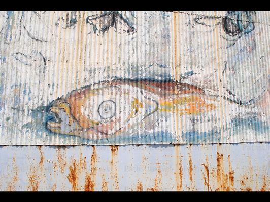 Fish Mural, Signed Original