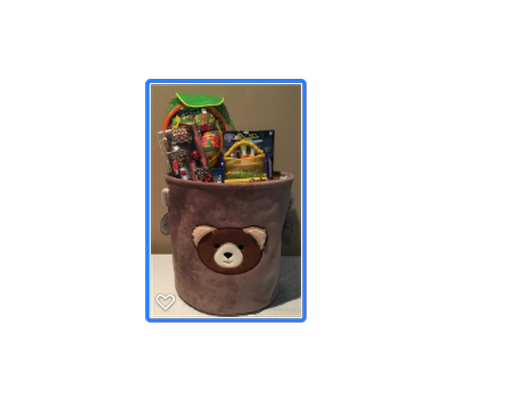 Bear Toy Basket