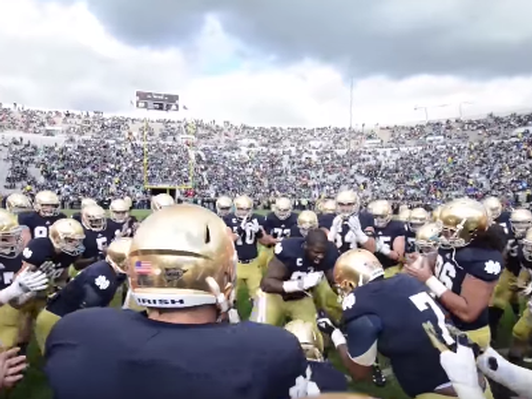 Notre Dame Football Weekend with Luxury Accommodations