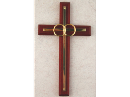 Cana Gold Cherry Wedding Cross