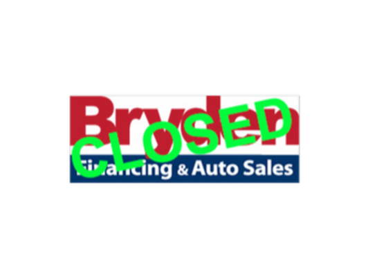 $500 VISA gift card courtesy of Bryden Financing & Auto Sales