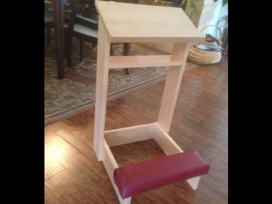 Hand-Made Kneeler