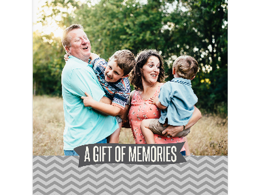 Crystal Freemon Photography - Gift Certificate for One Hour Family Session