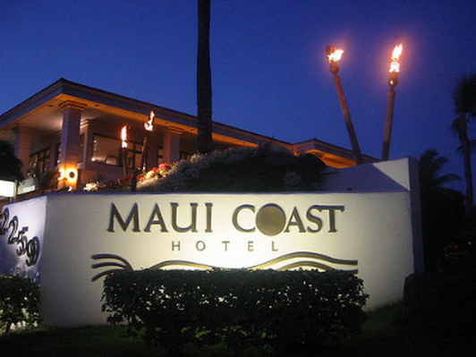 One Night Stay in a One Bedroom Suite at Maui Coast Hotel