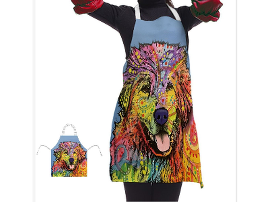 Great Pyrenees Series Aprons - Dean Russo Art