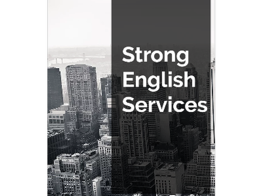 Strong English Services