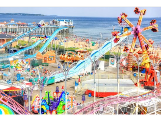 Palace Playland -Two Books of Ride Tickets
