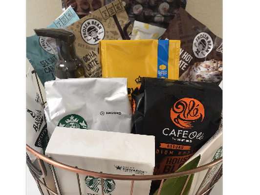 Coffee and Sweets Basket