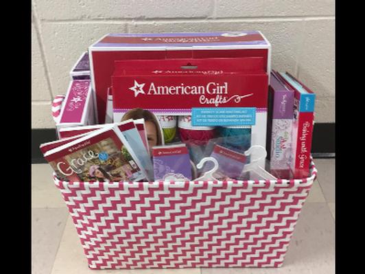 American Girl Basket