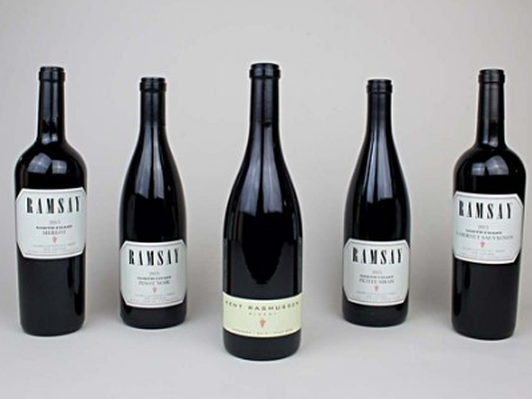 One Case of Ramsay Wines