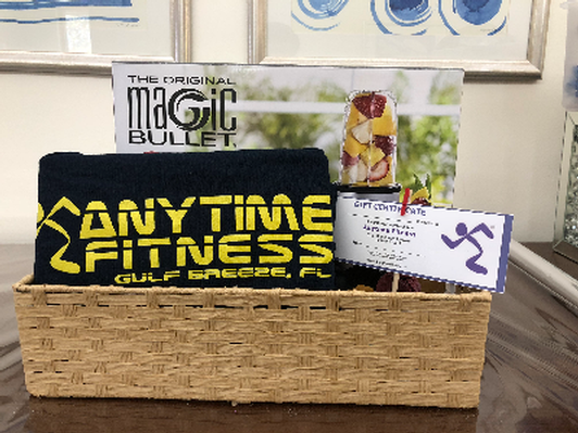 Fitness and Health Gift Basket