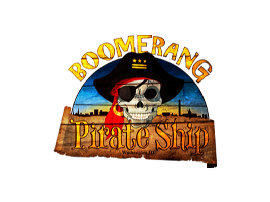 Four Tickets for The Boomerang Pirate Ship