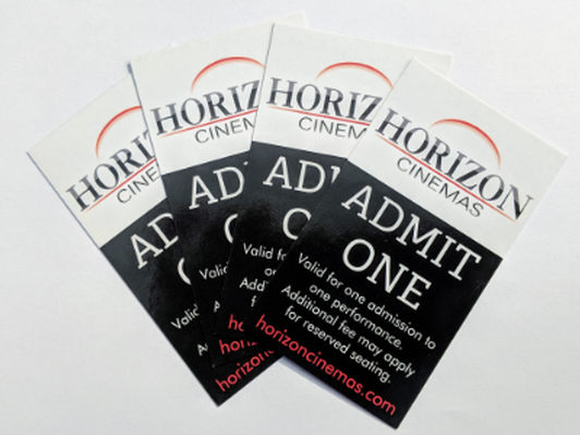 Horizon Cinema 4 passes