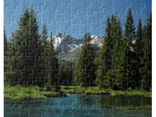 Rocky Mountain National Park Jigsaw Puzzle