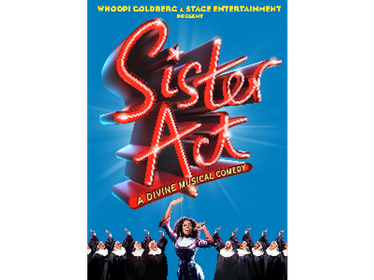 Sister Act Cast Signed Poster
